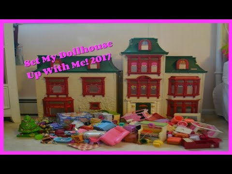 Set My Dollhouse Up With Me! | The Loving Family Show