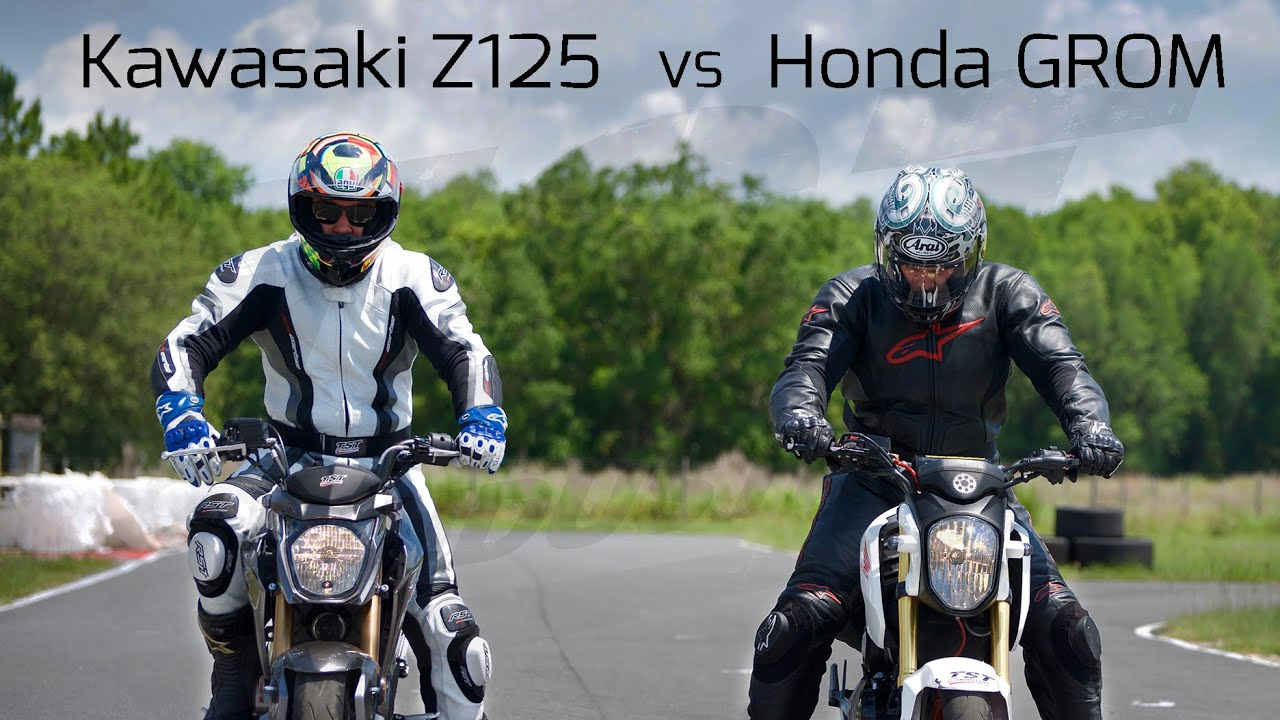 Real Test: Honda GROM VS Kawasaki Z125 – TST Industries Blog