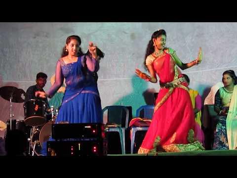 Nimma Nimma Pandu Dj Song Dance Performance || Dasara Festival in Thummala Palem