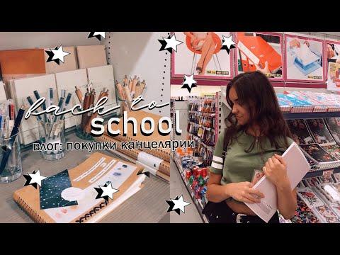 ПОКУПКИ КАНЦЕЛЯРИИ 2020 | vlog: покупаю канцелярию к школе | Back To School📚