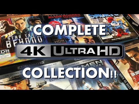COMPLETE 4K ULTRA HD COLLECTION!!
