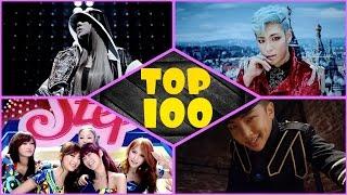 [top 100] k-pop party songs!
