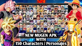 DOWNLOAD NEW MUGEN STYLE APK FOR ANDROID Without / Sin Emulator || New Jump Force MUGEN Android
