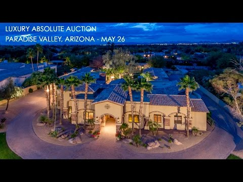 Paradise Valley Arizona Home For Sale [Guest House & Pool]