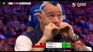 2018 World Cup of Darts Quarter Final Scotland vs Japan