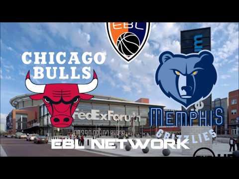 [EBL] |Pre-Season| Chicago Bulls @ Memphis Grizzlies FedExForum [M08 Arena]