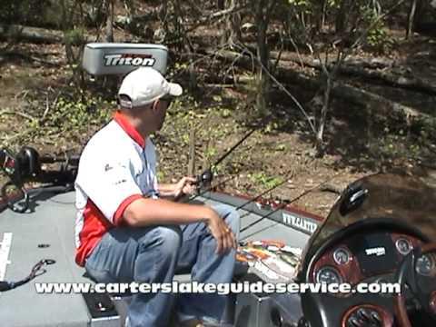 Carters Lake Fishing Report (April 2010)
