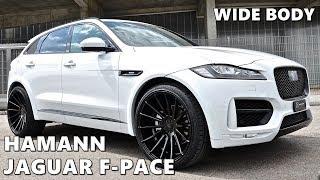 Hamann Jaguar F-PACE in White