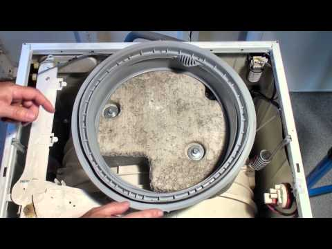 How to Replace a Washing Machine Door Seal - Indesit