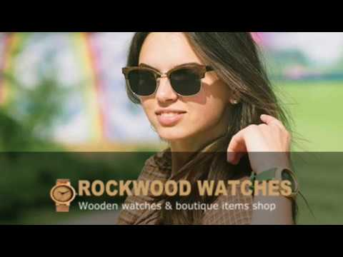 Rock Wood Stylish Wooden Watches Store for Women