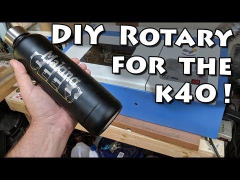 DIY Rotary Module for K40 Laser Engravers!