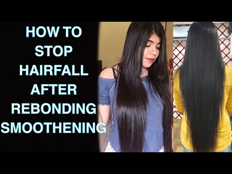 Stop hairfall after straightening and smoothening | How to take care of your hair | HairCare