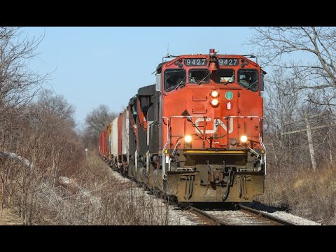 Canadian Trains, March 2019