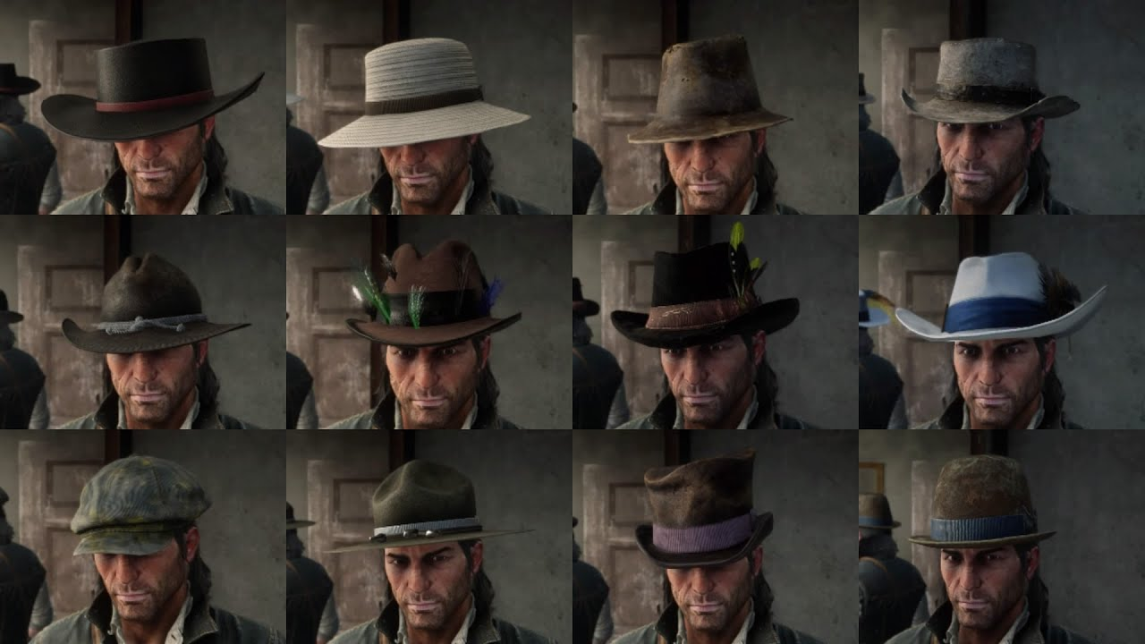 Red Dead Redemption 2 39 Stolen Hats 11 Found Hats 30 Crafted Hats 25 Owned Hats Rdr2