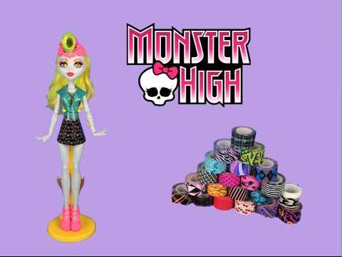 Monster High Tapeffiti Fashion Design Dress Kit