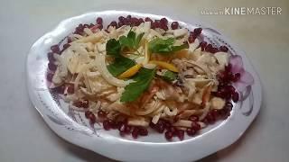 Салат из сельди по славянски,  Фонтан вкуса