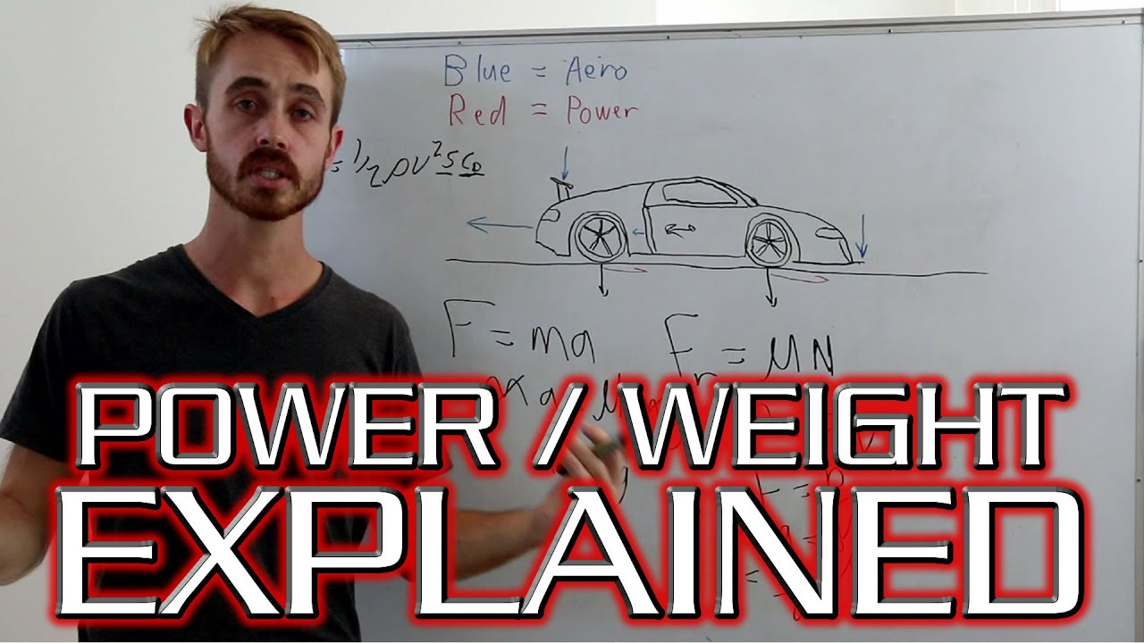 Power To Weight Ratio Is It All That Affects Acceleration Youtube