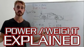 Power to Weight Ratio - Is it all that affects acceleration?