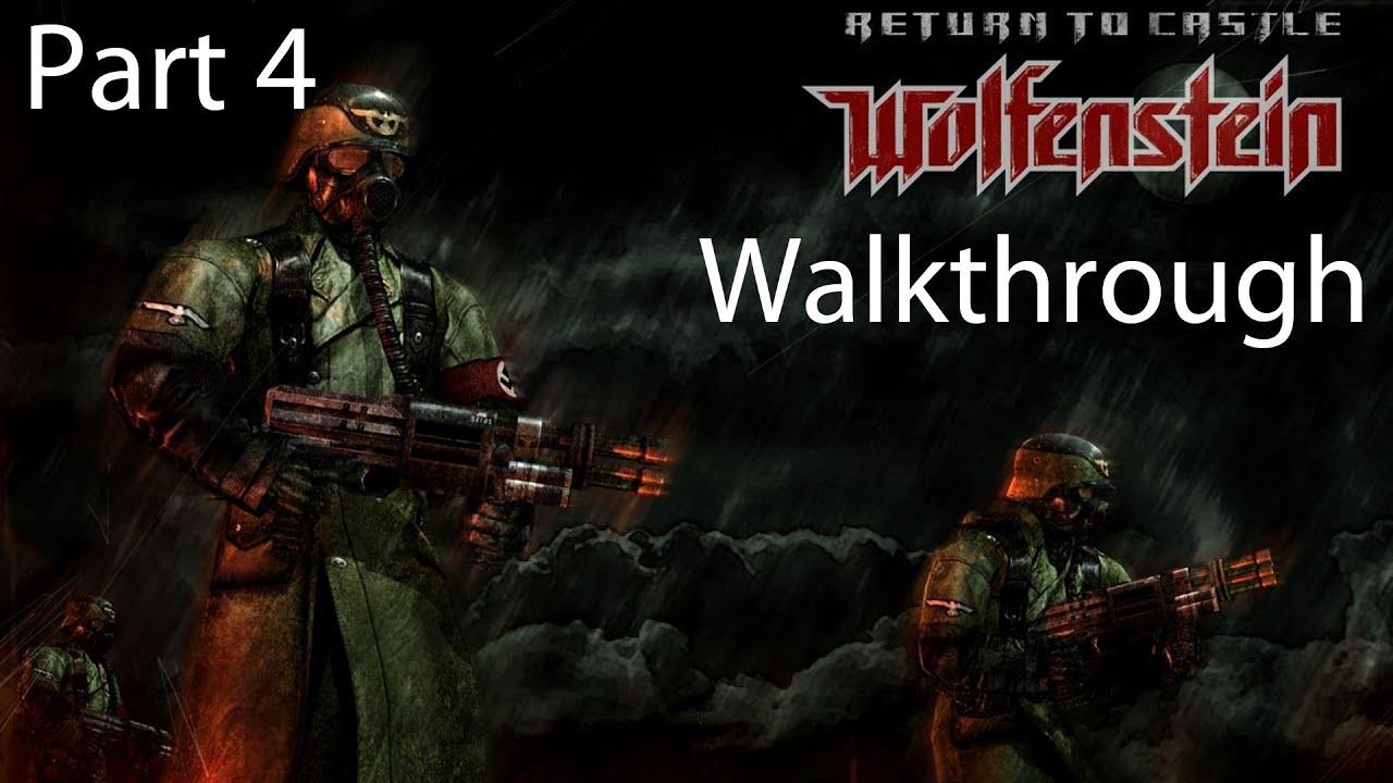 Return To Castle Wolfenstein Coop Walkthrough Part 4 Ruins Youtube