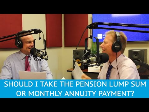 should-i-take-the-pension-lump-sum-or-monthly-annuity-payment?---ymyw-podcast