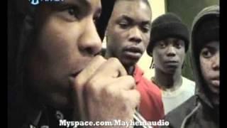Chipmunk Vs Griminal Full Clash Unseen Footage Exclusive on Mayhem TV Darker Romello