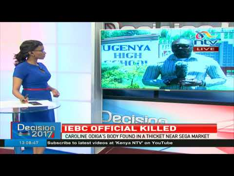 Police probe death of a deputy presiding officer with the IEBC in Sega