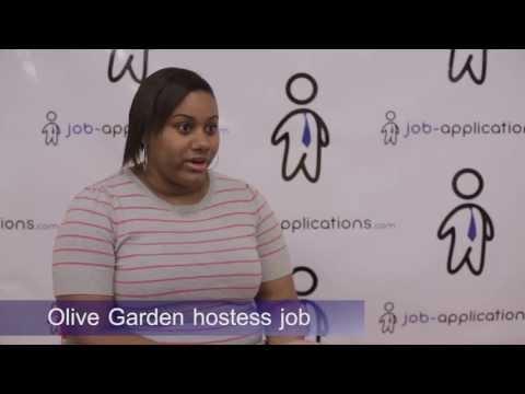 Olive Garden Hostess