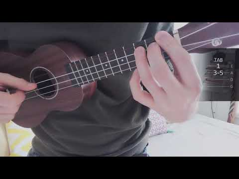 How to play Harry Potter x Dumbledores Farewell (Nicolas Hooper) on Ukulele mp3