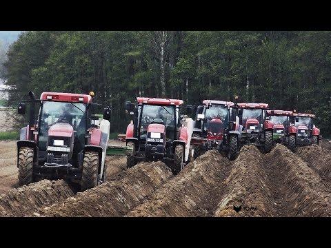 13 TRAKTOREN auf einem Feld! | 8 CASE IH | 135 - 330 PS | Agriculture Germanyy | [GOPRO/PHANTOM]