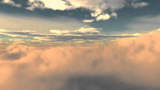 Video-Hintergrund - Looping-Cloud Animation