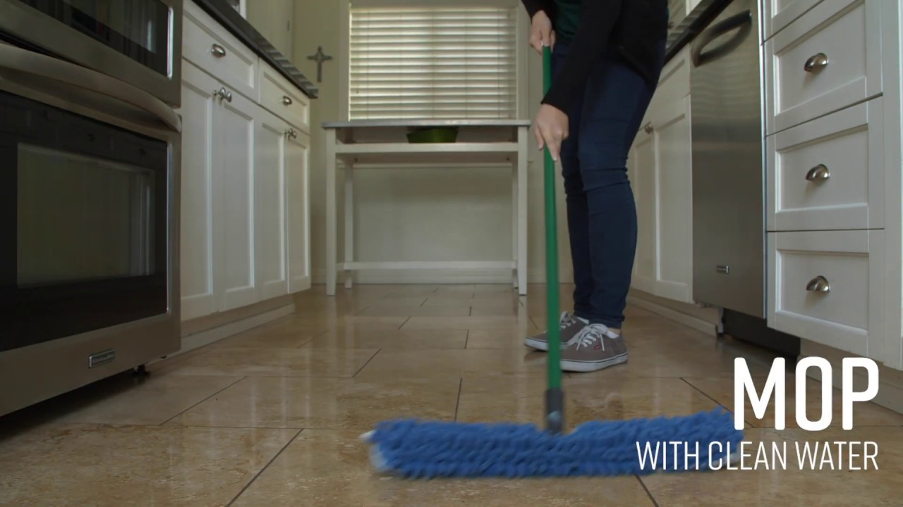 quick tip how to clean tile floors