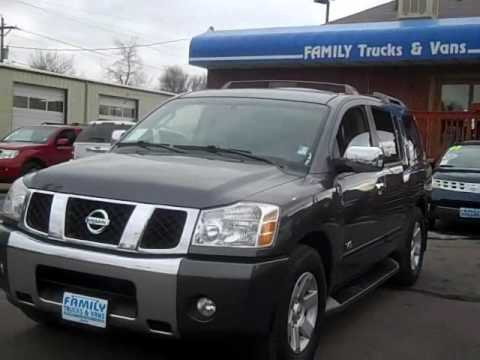 Family Trucks and Vans 2005 Nissan Armada Stock B20773 - YouTube