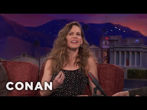 Hilary Swank Speaks