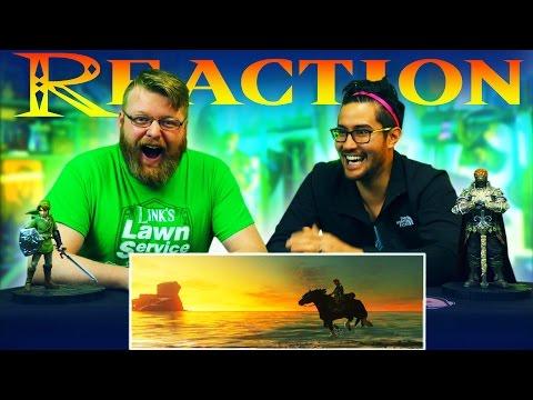 The Legend of Zelda: Breath of the Wild - 2017 Trailer REACTION!! (Nintendo Switch Presentation)