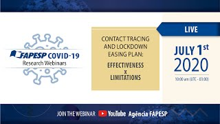 3rd Webinars on COVID-19 | CONTACT TRACING AND LOCKDOWN EASING PLAN