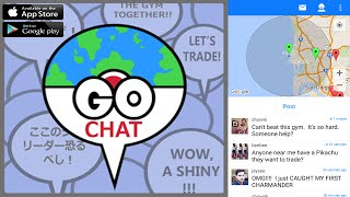 How to find and chat with Pokemon Go Trainers? Pokemon Go Chat!