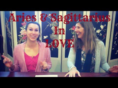 Aries & Sagittarius Love Compatibility with Astrologer Catherine Kincaid