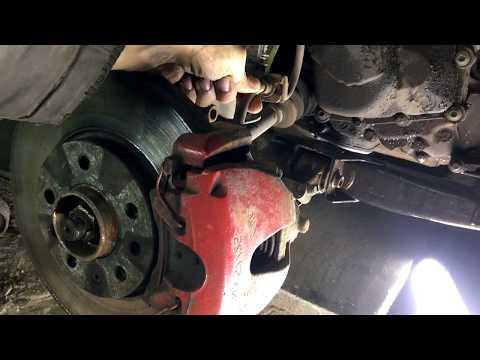 Opel Astra H замена ступицы. Диагностика и ремонт.