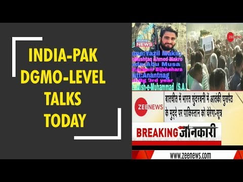 Breaking News: India, Pakistan DGMO-level talks today