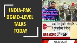 Breaking News: India, Pakistan DGMO-level talks today