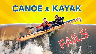 Funny Kayak and Canoe Fails Compilation   Canoeing and Kayaking fail