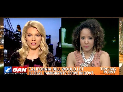 Bren Herrera Debates on One America News California Senate Bill 174 For Undocumented Immigrants