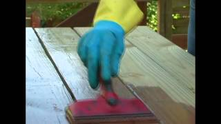 Protect Your Deck and Outdoor Wood Furniture with Thompson's WaterSeal