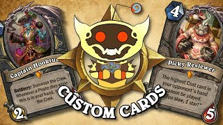 TOP CUSTOM CARDS OF THE WEEK #25   Card Review   Hearthstone
