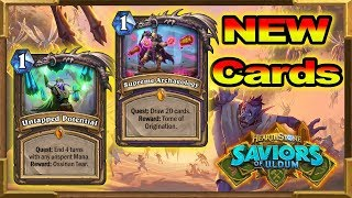 Hearthstone: New Cards Review - Saviors of Uldum - New Expansion ⭐⭐⭐⭐⭐