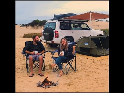 The Adventure Kings Big Daddy Deluxe is easiest beach camp setup