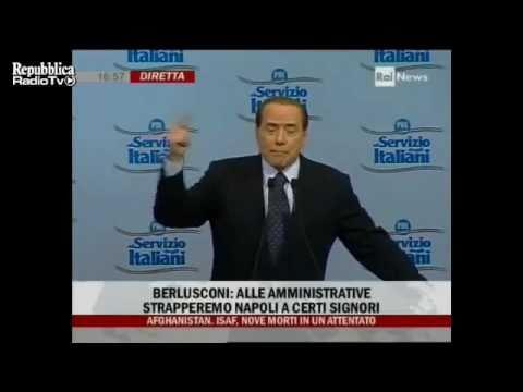 "Berlusconi Senza Freni!! ""Craxi era Innocente!"" Applausi in Sala!"
