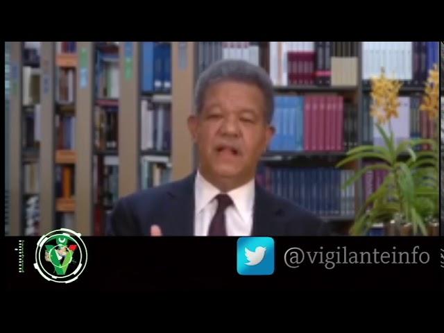 Leonel saluda propuesta presidente Medina sobre ley de partidos