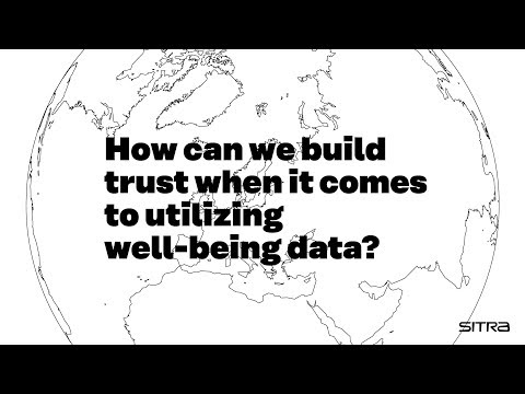 What's up with well-being data – trust?
