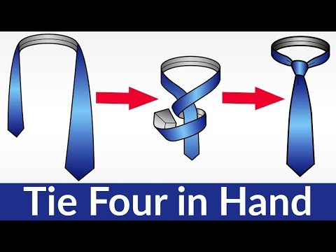 tie a tie four in hand
